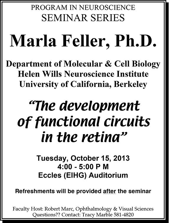 Feller Seminar
