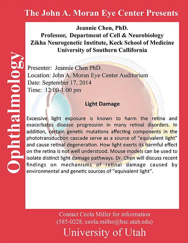 Jeannie Chen seminar