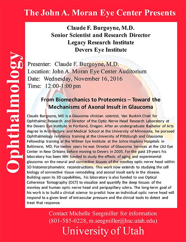 Seminar Flyer - Burgoyne